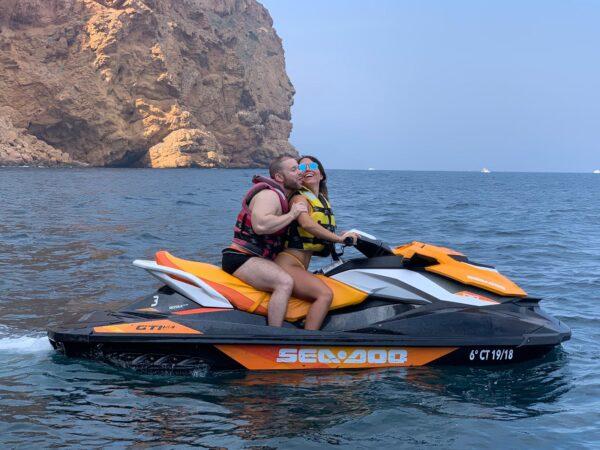 Moto de agua en pareja Benidorm