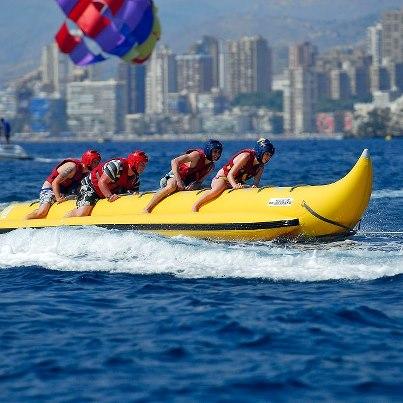 Banana boat Benidorm