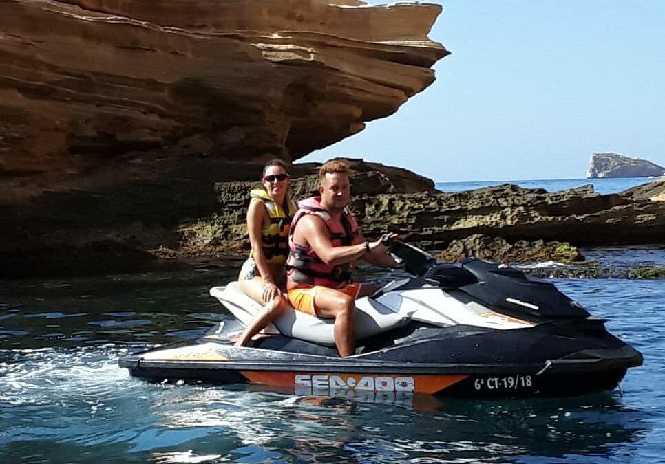 7 Razones para realizar una excursión en moto acuática en Benidorm