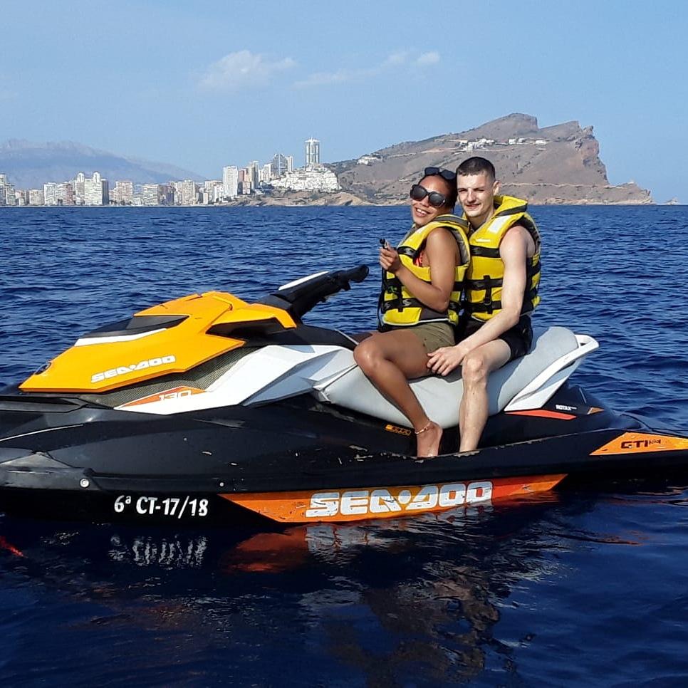 Precio motos de agua Benidorm